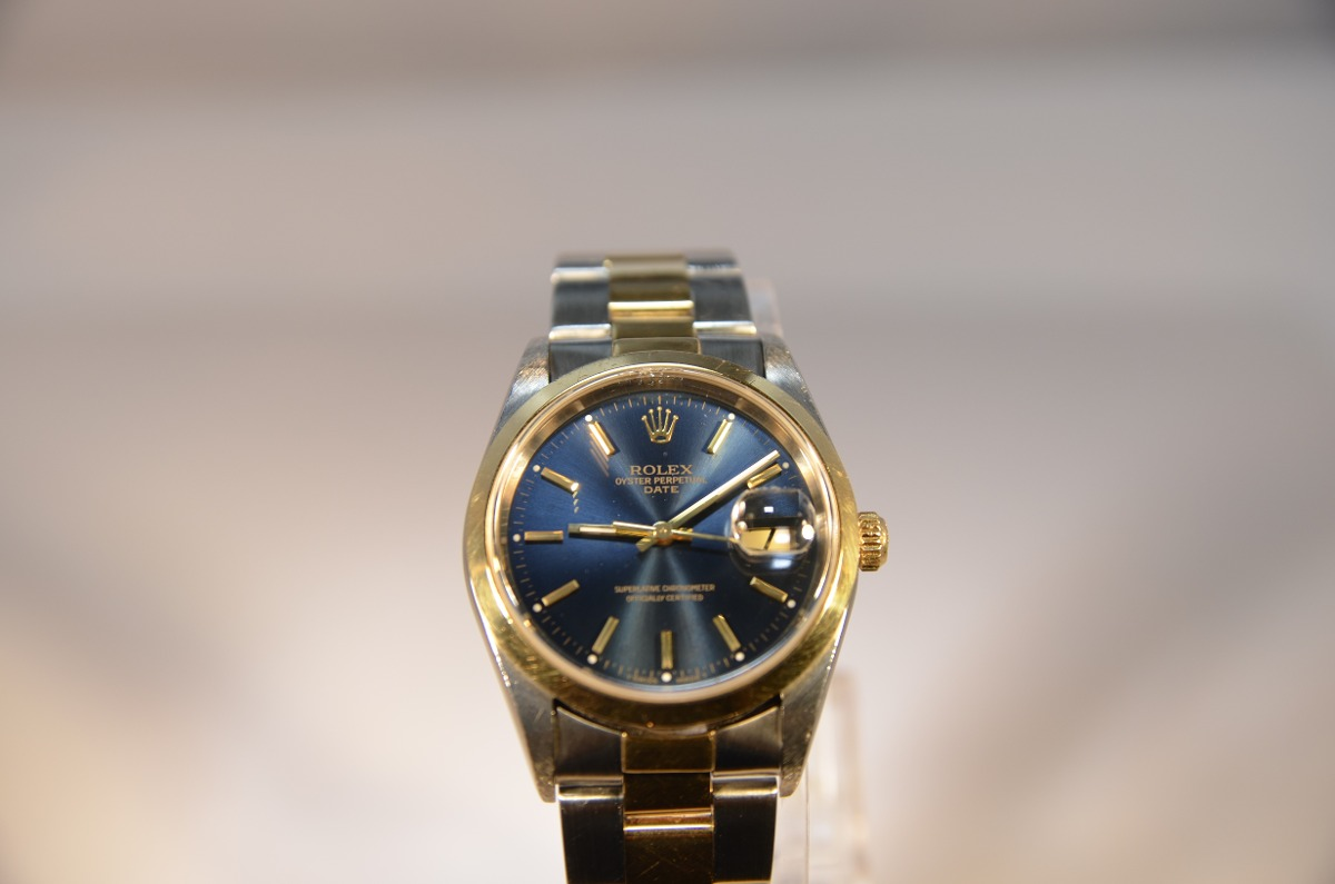 72d9b3641129c Reloj Rolex Hombre Combinado Oro 18 K Estuche Original -   130.000 ...