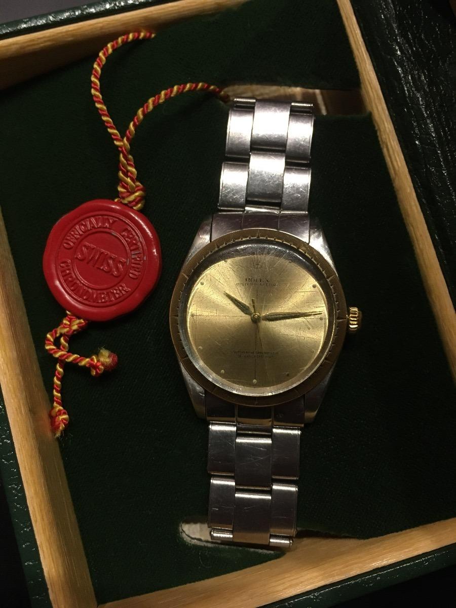 Reloj Rolex Hombre Oyster Perpetual Oro  77e56a6b0d06
