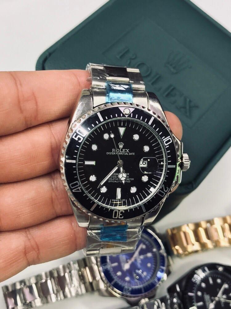 ece492a192d0 reloj rolex hombre submariner clasico acero inox envio grati. Cargando zoom.