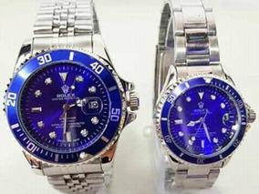 ec1d44eb81aa Reloj Rolex Hombre Y Mujer Submariner Clasico Calendario Fun
