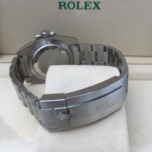 reloj rolex hulk submariner automatico eta sumergible