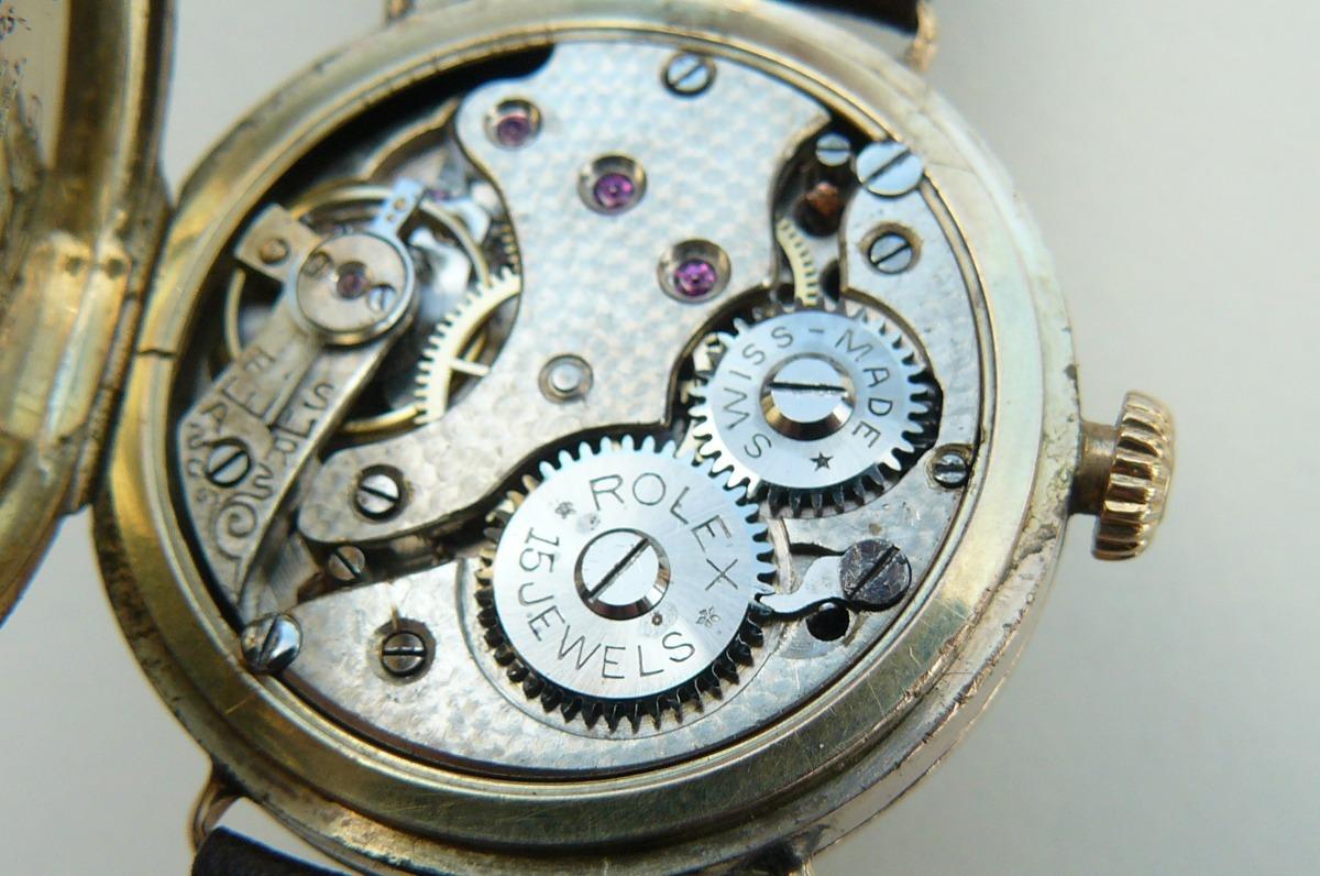 033a7b9649df reloj rolex militar antiguo oro solido suizo 15 rubi año1926. Cargando zoom.