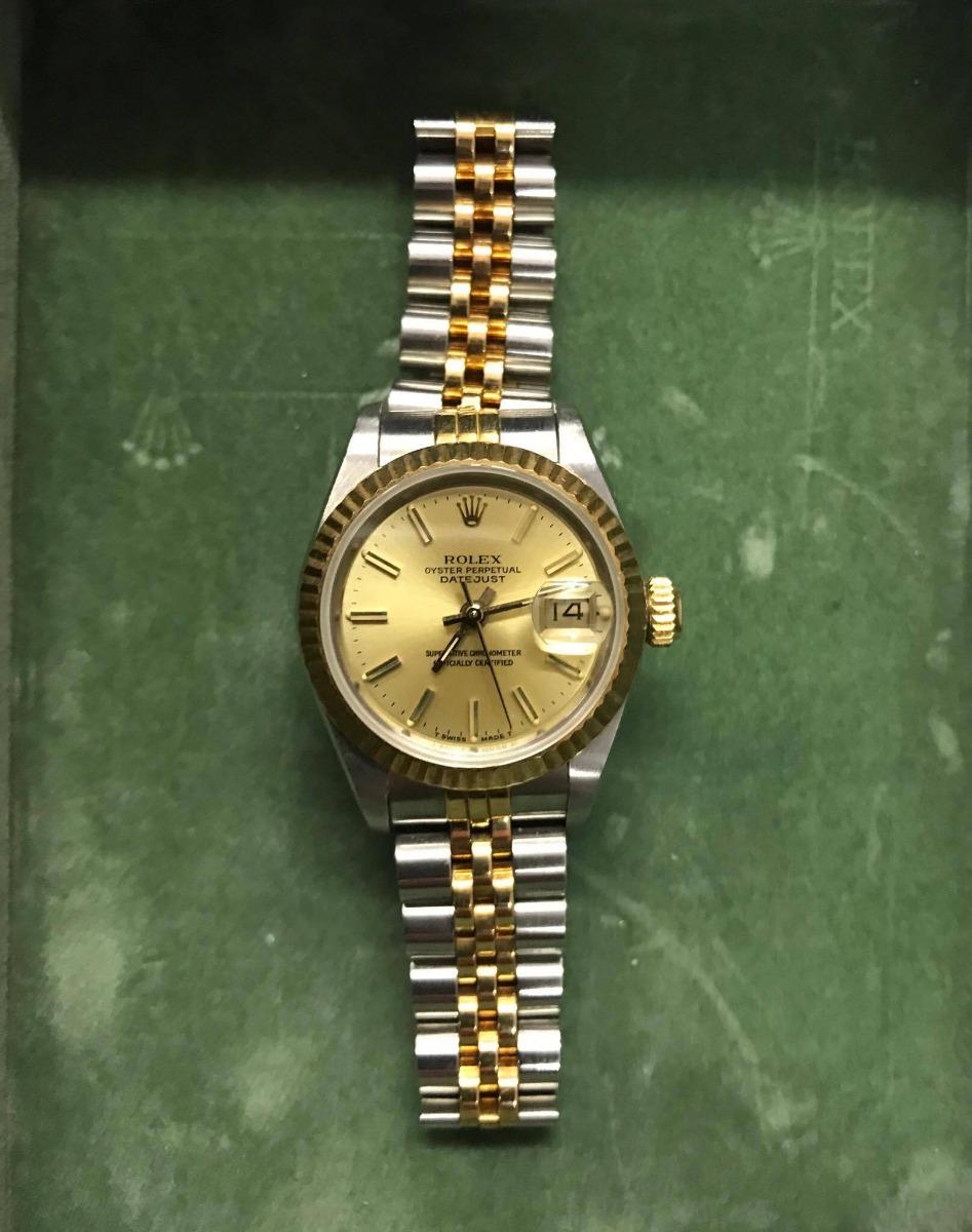 reloj rolex mujer oyster perpetual combinado. Cargando zoom. 3ee09fc9afe9