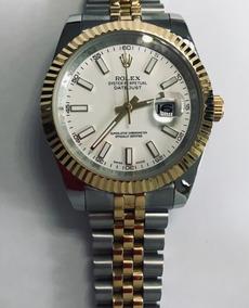 Date Oyster Reloj Rolex Combinado Day Caratula De Perpetual Negra eE2WH9YDI