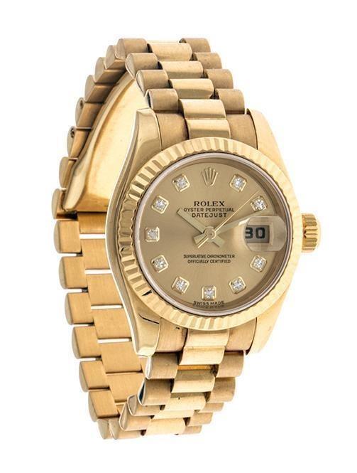 27824ce35d5a Reloj Rolex Para Dama Modelo Oyster Perpetual Date-115278581 ...