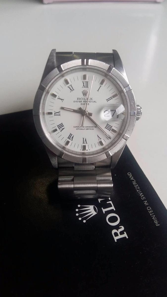 1fc8ca2887e reloj rolex ref 15210 blanco   orologiwatches  . Cargando zoom.