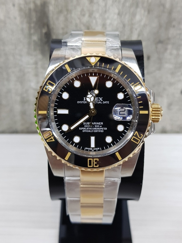 d1abcd4af11 reloj rolex submariner acero oro zafiro 40mm (fotos reales). Cargando zoom.