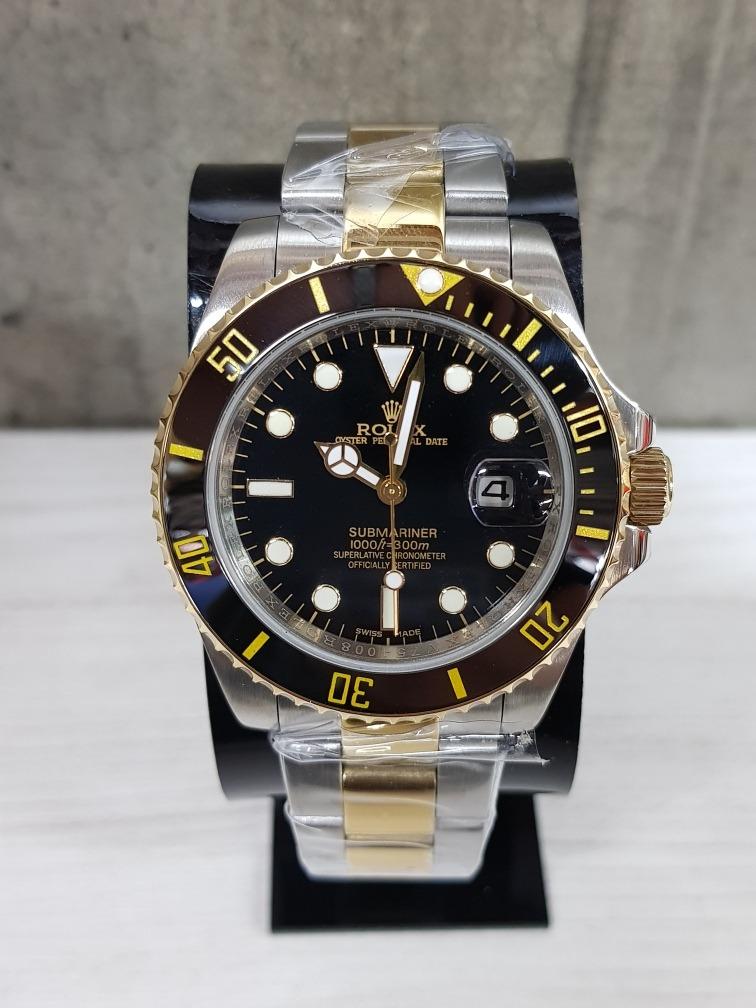 023990b147f reloj rolex submariner acero oro 40mm (fotos reales). Cargando zoom.