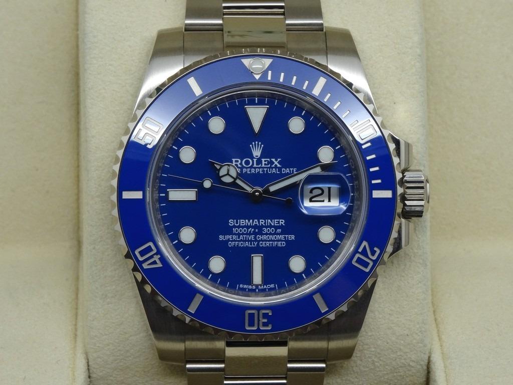 a1eecb92083 reloj rolex submariner azul suizo. Cargando zoom.