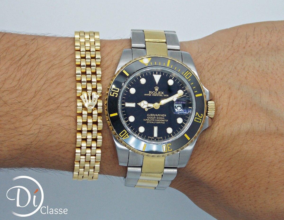 c3aca887b1f Reloj rolex submariner negro acero oro king combinado jpg 1200x927 The rolex  submariner