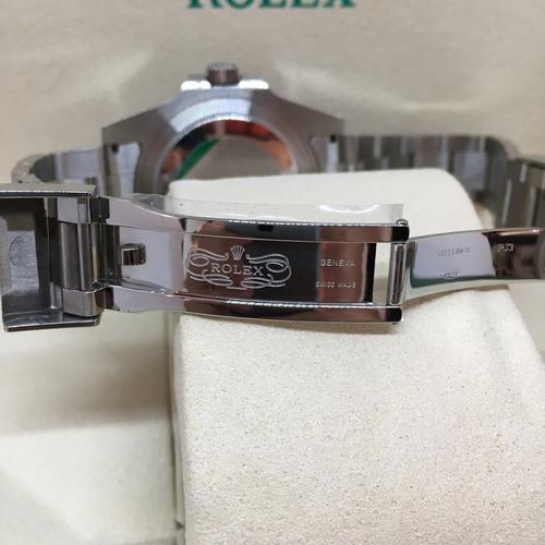 reloj rolex submariner negro automatico eta sumergible