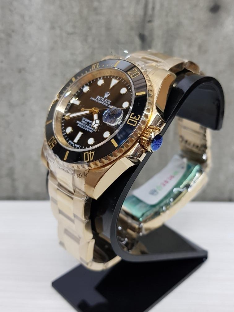 0852dd1349d reloj rolex submariner oro 40mm zafiro (fotos reales). Cargando zoom.