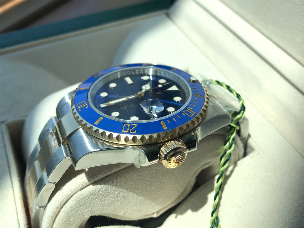 dfa9d7a7898 reloj rolex submariner oro acero 116613 azul suizo eta 3135. Cargando zoom.