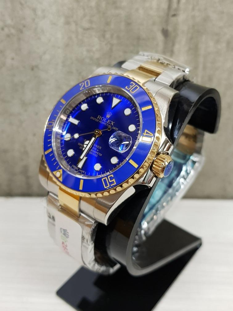 cfba1ac96a2 Reloj Rolex Submariner Oro Acero 40mm Zafiro (fotos Reales ...