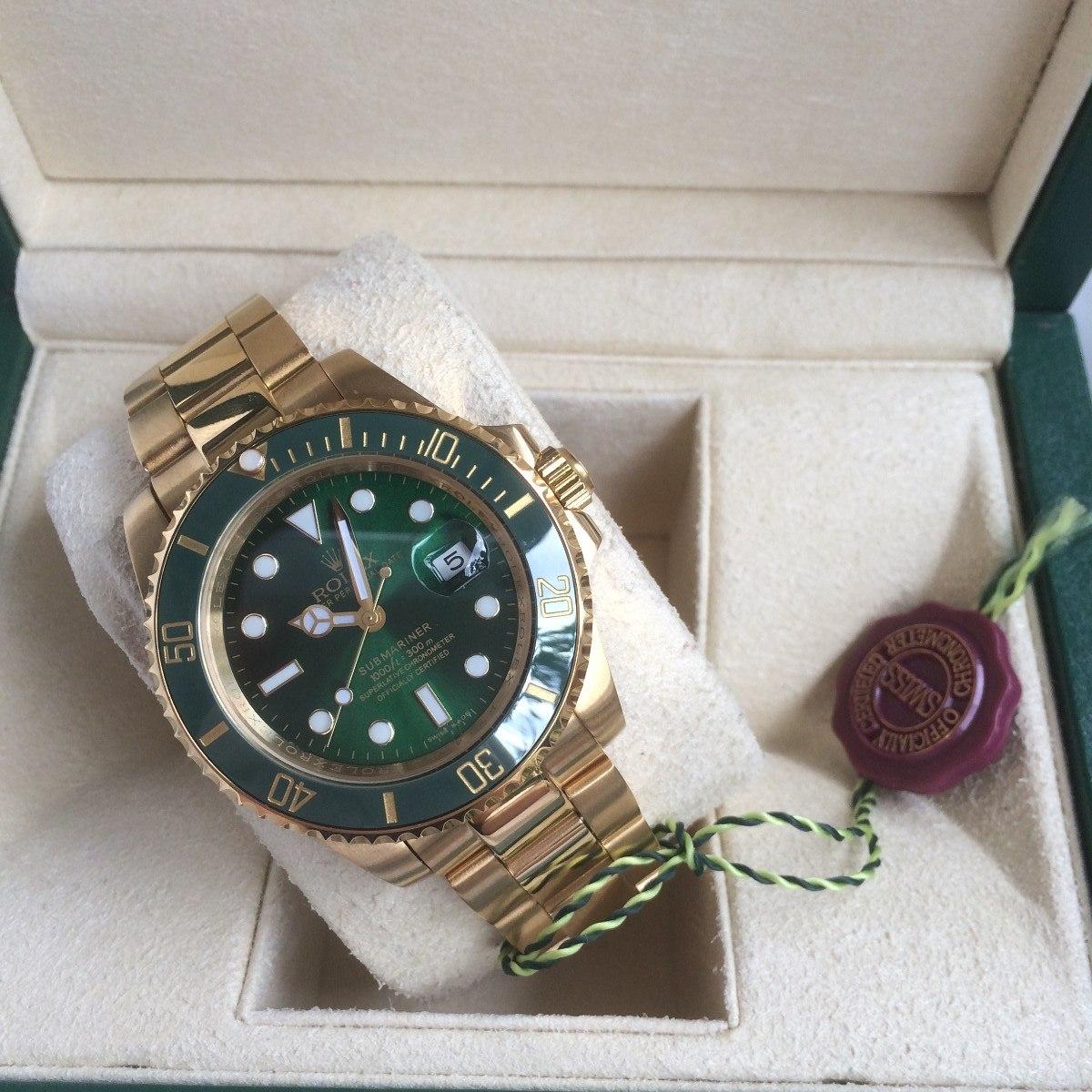 Automatico Rolex Eta Reloj Submariner Oro w8vmn0N