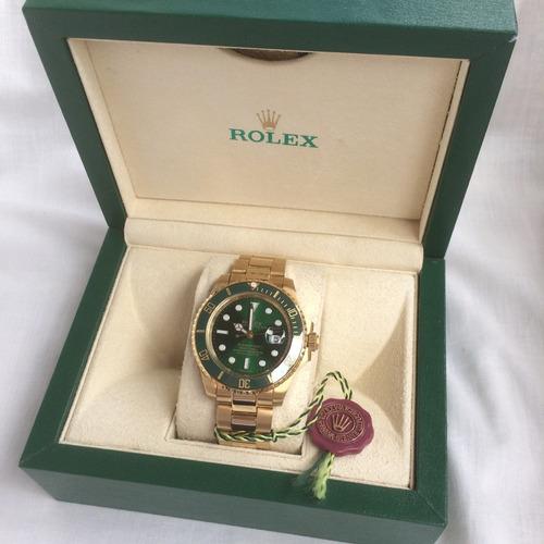 reloj rolex submariner oro automatico eta