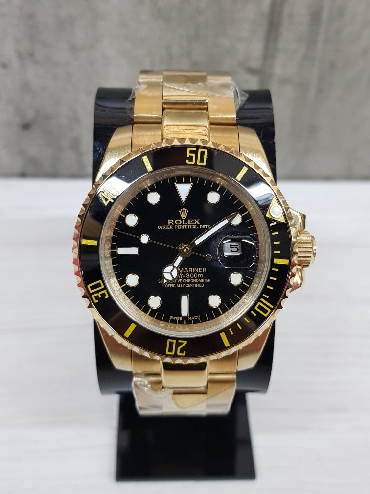 Oro Submariner Reloj Rolex Dorado 40mmfotos Reales xBrdCoe
