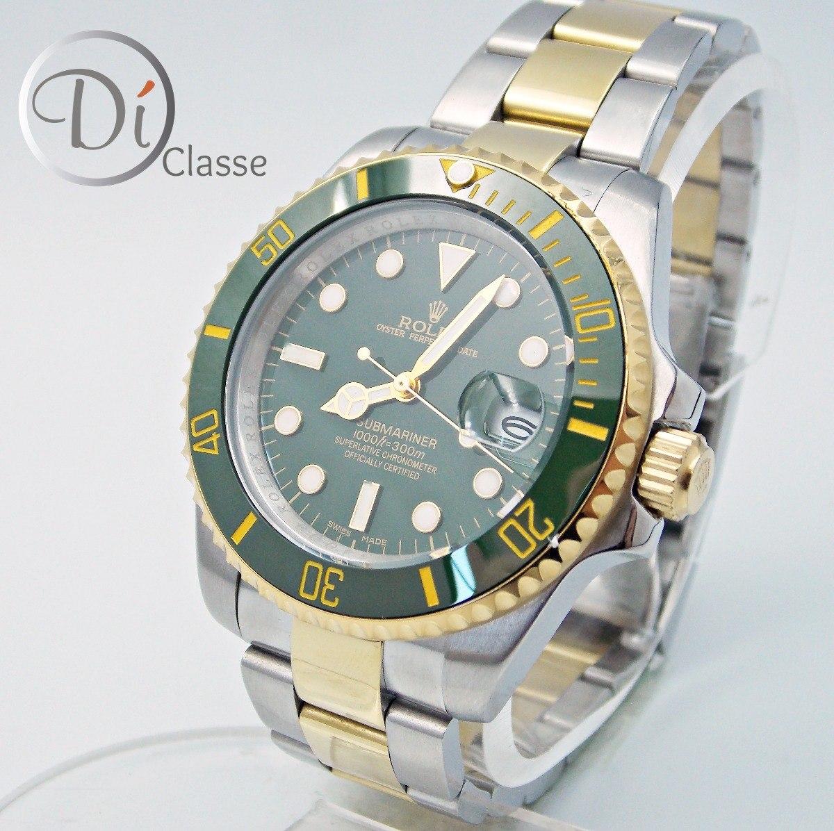 4e8b6194c1f reloj rolex submariner verde hulk acero oro king combinado. Cargando zoom.