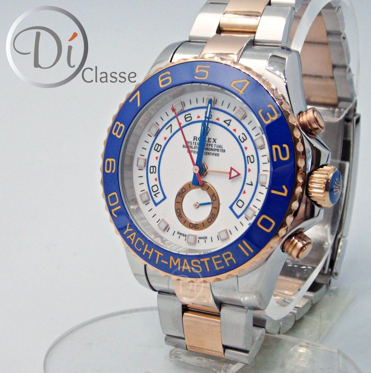20f96ff0ab8 Reloj Rolex Yach Master Ii Clasico Acero Con Oro Rosa -   3