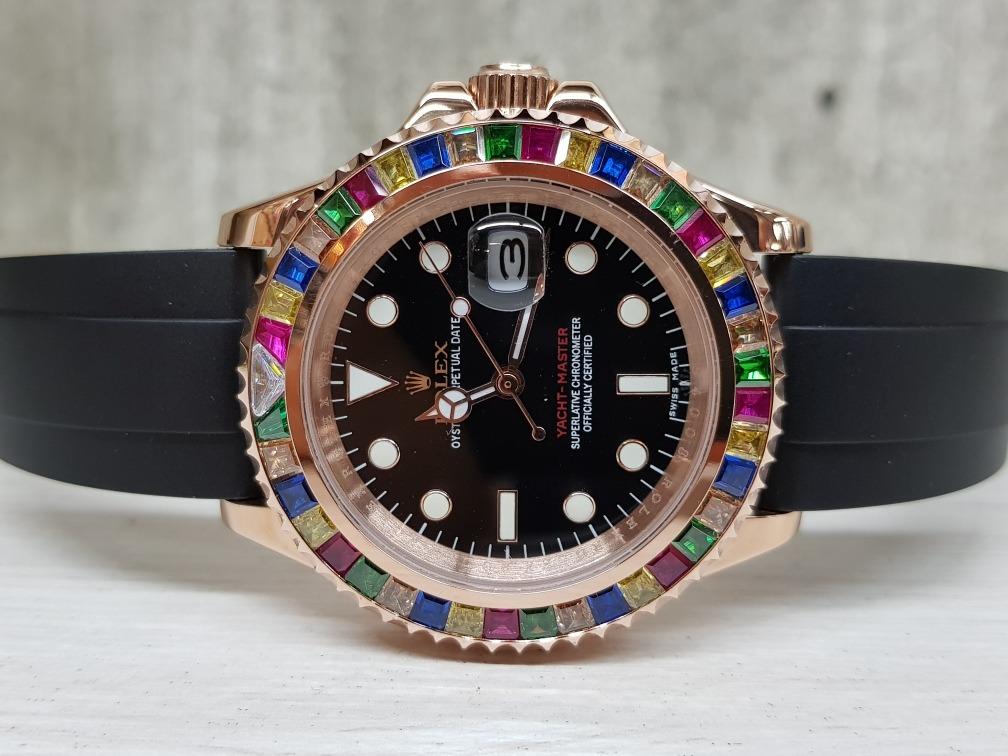 Yacht Master Reales Rolex Rosa 40mm Oro Malumafotos Reloj TFuc3K1Jl
