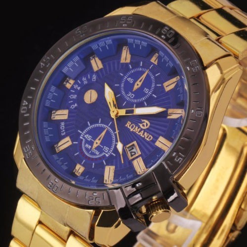 reloj romand estilo luxury