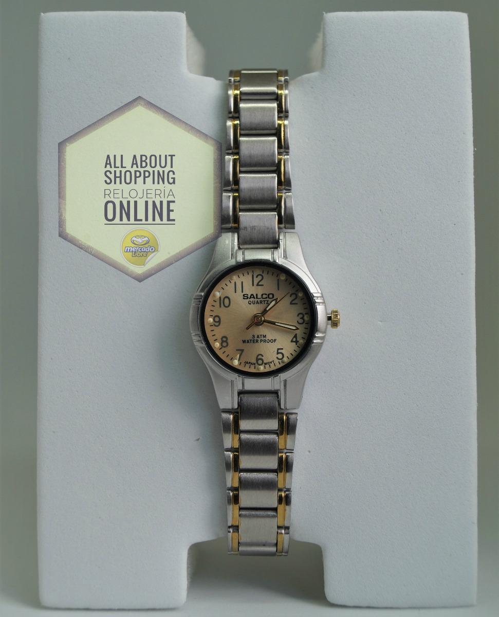 35b412943d0 Reloj Salco Dama V7ael2350 Plata Dorado R. Agua -   40.000 en ...