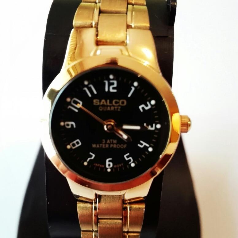 3e47e803937 Reloj Salco Dorado Dama -   395.00 en Mercado Libre