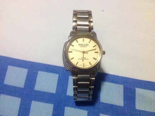 reloj salco, perfecto estado original