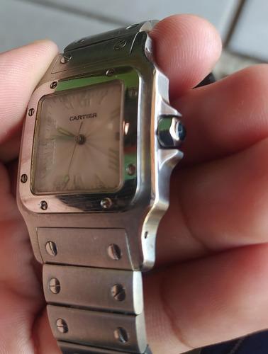 reloj santos de cartier galbee 1564 grande remate