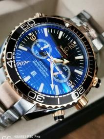 código promocional 35e32 0110f Reloj Seamaster 007 Cuarzo Cronograph Aaa