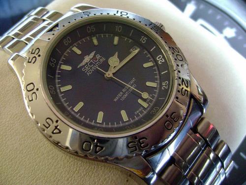 reloj sector adventure. colección diver. swiss.