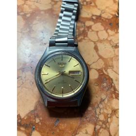 Reloj Seiko  Original Hombre Con Calendario Acero Inoxidable