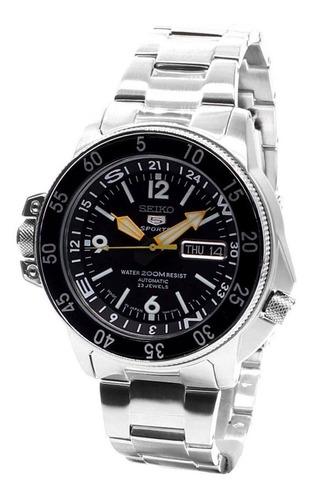 reloj seiko 5 atlas,  automático  skz211j1