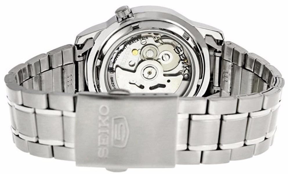 reloj seiko 5 automático 21 jewels acero inox. azul snkk27. Cargando zoom. 6d4996387ec8