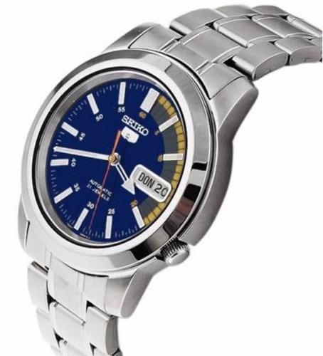 Reloj Seiko 5 Automático 21 Jewels Acero Inox. Azul Snkk27 ... afaf9a6b5c7d