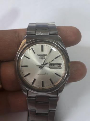reloj seiko 5 automático 7009 - 8210