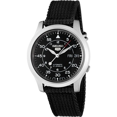 7ad210f186bd Reloj Seiko 5 Automático De Hombre Snk809k2 Malla Tela -   8.800