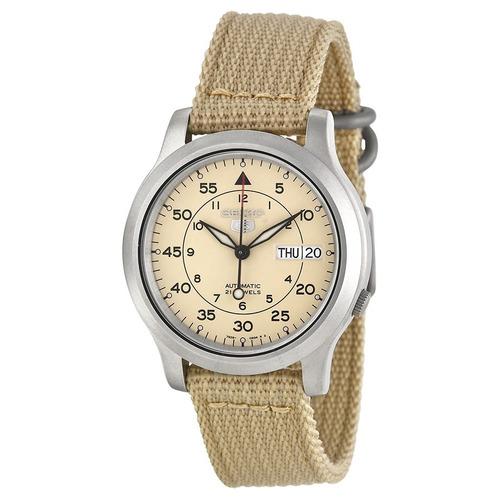 reloj seiko 5 automatico militar snk803 garantia x 12 meses