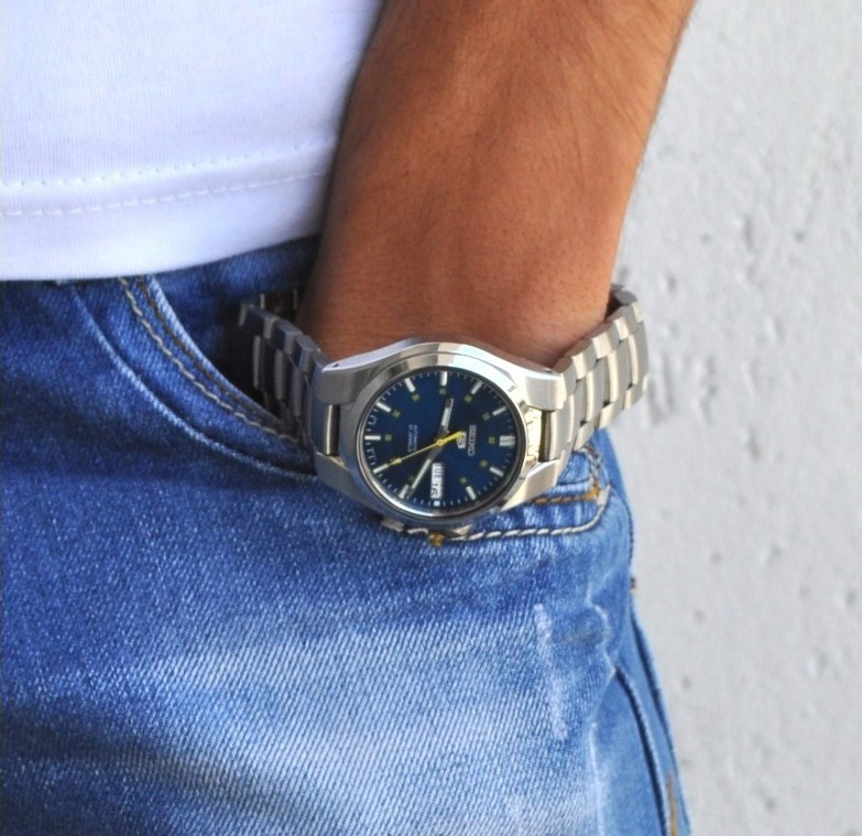 wholesale dealer 94497 70e59 Reloj Seiko 5 Automatico Snk615k1 Unico En Ml C/ Gtia