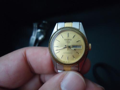 reloj seiko 5 original de dama antiguo