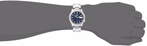 reloj seiko 5 snk793 automatico acero garantia x 12 meses
