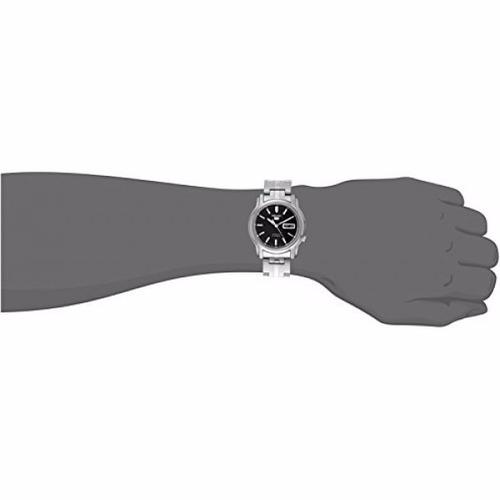 reloj seiko 5 snkk71 automatico acero garantia x 12 meses