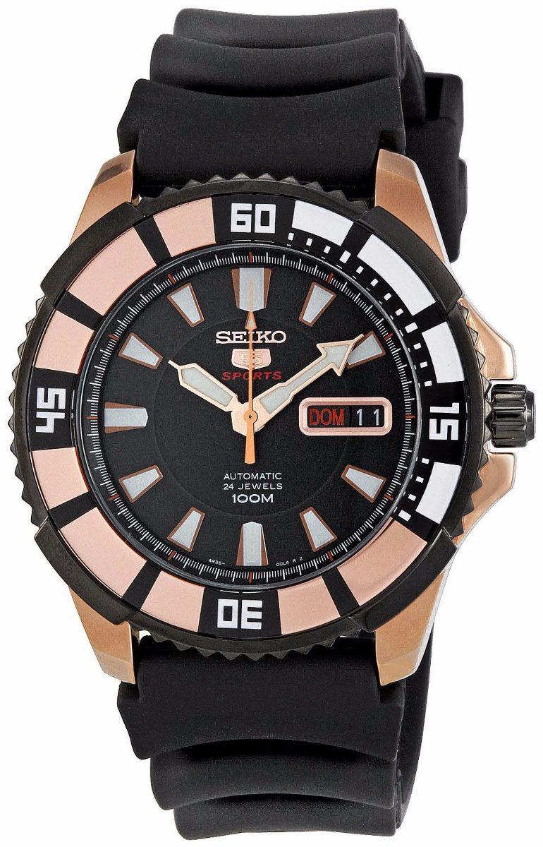 e6b74baa8be2 reloj seiko 5 sports automatic 21 jewels acero srp210. Cargando zoom.