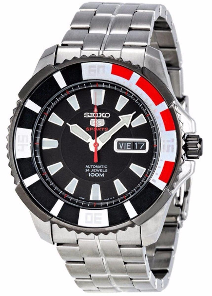 9e364ccb55df reloj seiko 5 sports automatic 24 jewels acero srp207. Cargando zoom.