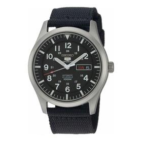 Reloj Seiko 5 Sports Automático Con Malla De Tela Snzg15
