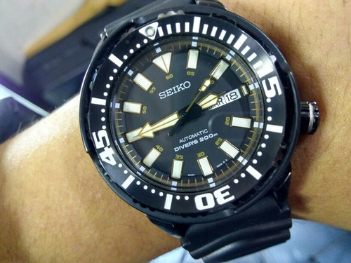 reloj seiko air diver's 200m  automatico