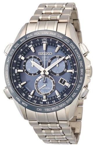reloj seiko astron gps solar cronógrafo hombre sse005