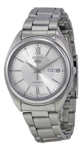 reloj seiko automático snxa19 acero garantía oficial