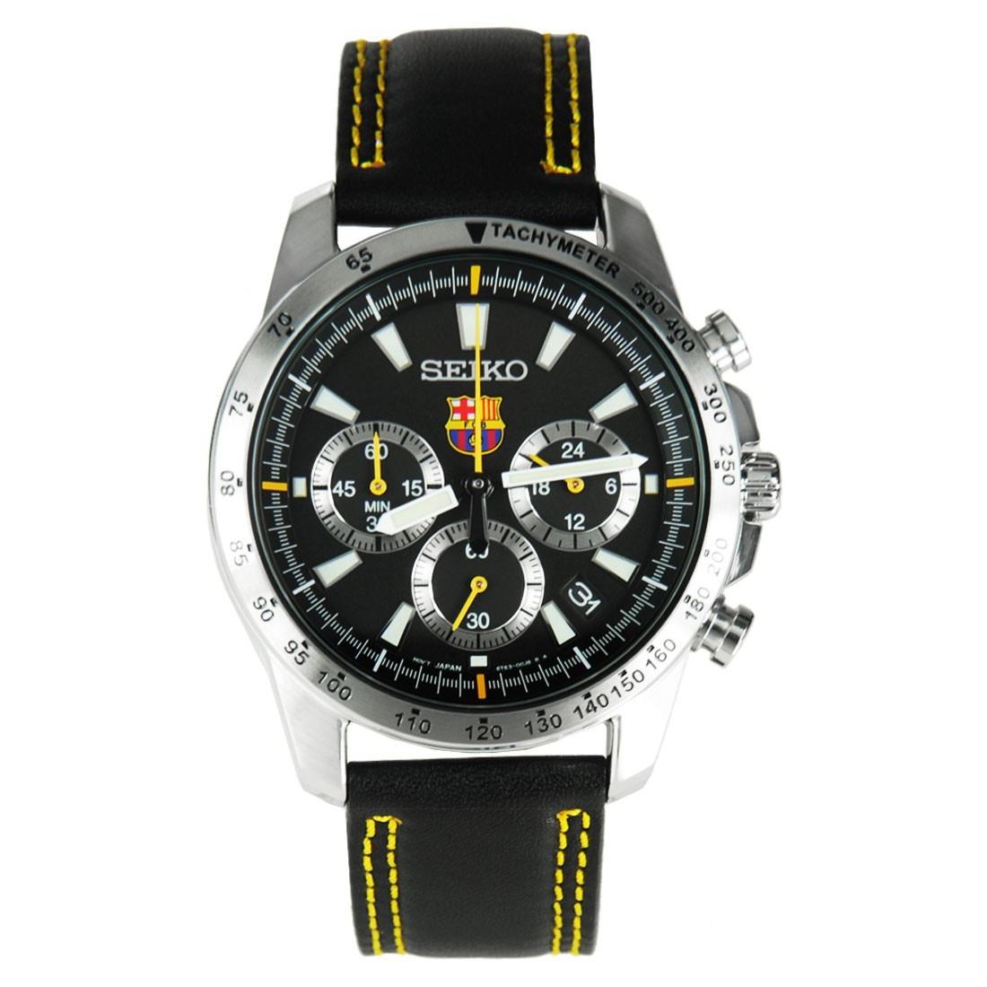 Reloj Seiko Barcelona Crono Edición Especial Ssb073p2 -   16.350 810624acdb2