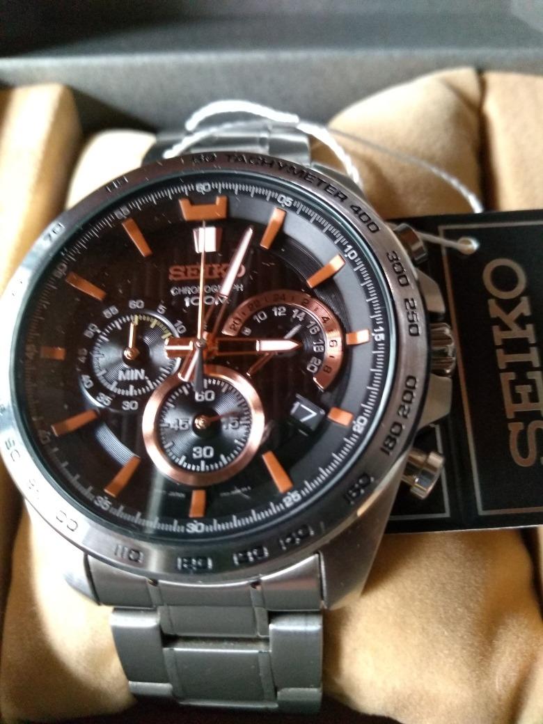 online store fbb84 d95fc Reloj Seiko Cronografo Hombre Cal.8t63 Oferta!!!